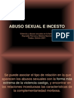 Presentacion Para Clase Abuso Sexual e Incesto pia III 2011-2012 A