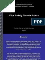 Etica Social y Filosofia Politica
