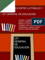 Ley General de Educacion1290