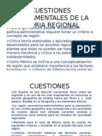 fundamentos regionales.