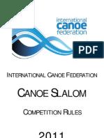 ICF Canoe Slalom 2011