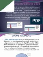Estructura Del CD y Dvd