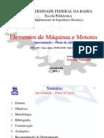 00- Elementos de Máquinas + Estudo Dirigido I
