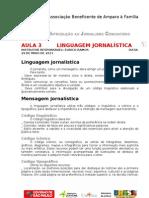Abenaf - Jornalismo - Aulas 3 e 4