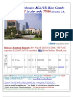 Home Condo TH for RENT in Zip Code 77056-Houston TX 10-16-11