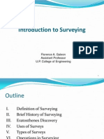 1 Introduction to Surveying