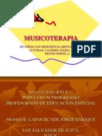 Musicoterapia Curso. Para Sacar Ideas