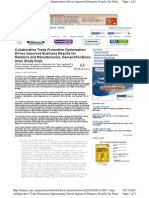 Collaborative Trade Promotion Optimization Drives Improved Business Results for Retailers