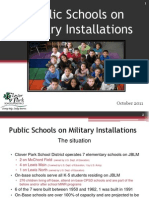 Public Schools on Military Installations
