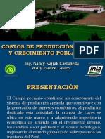 Costos de Produccion Del Cuy