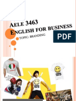 Aele 3463 English for Business