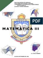 Unidad I MatemÁtica III