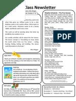 Praise Kids Class Newsletter Week 9