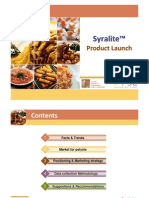 Syralite Product launch