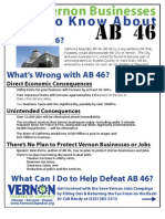 AB46 Flyer