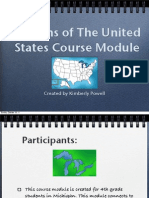 United States Regions Course.