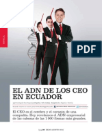 EL ADN DE LOS CEO