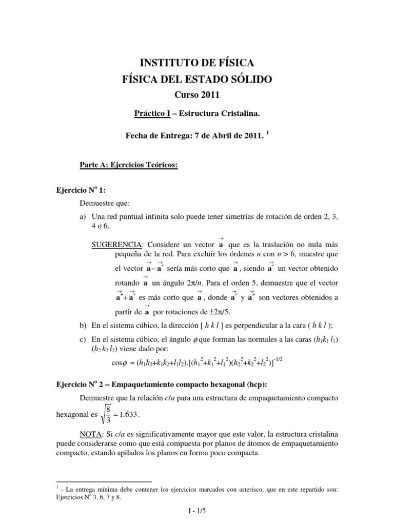 Practico I Estructura Cristalina 2011 Ion Estructura