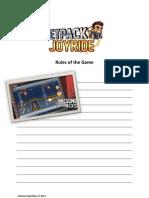 Jetpack Joyride - Rules