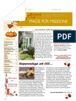 Mfm October Newsletter