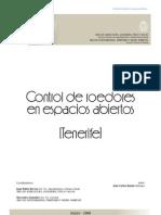 Control Roedores ENP Tenerife