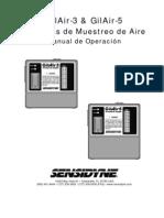 MANUAL-Gil3+5_atex_es Sistemas de Muestreo de Aire