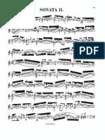 Bach Sonata2 BWV1003