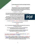 Números Primos (la descomposición numérica de Sergio Aschero)