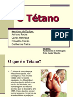 Apresentacao-O Tétano-Part 1-Geral