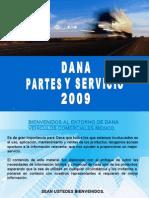 Dana Partes y Servicio 2009