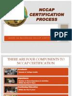 NCCAP Certification Process