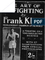 The Art of in-Fighting - Frank Klaus 1919