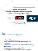 Lear Tolerance Stackup Course