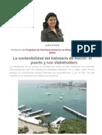 Impacto Social de Un Muelle en El Balneario de Ancon Lima