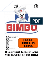Bimbo - Marketing in China
