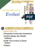 III Evolusi Baru 2011diskusi