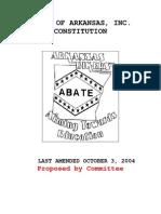 ABATE Constitution