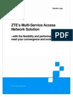 ZTE's Multi-Service Access Network Solution_20090612