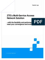 ZTE's Multi-Service Access Network Solution_20090612