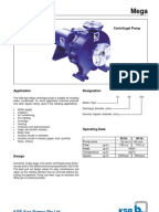 ksb mega pumps catalogue pdf