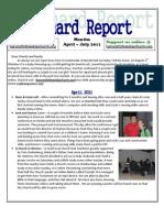 Newsletter April - July 2011