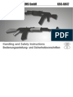 Gsg-Ak47 Instruction Manual English