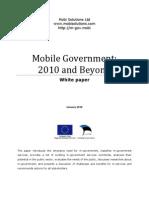 Mobile Government 2010 and Beyond v100