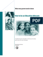 Manual Education Advocate