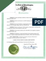 WA Proclamation 001