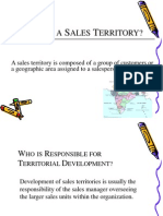 Sales Territories Ppt