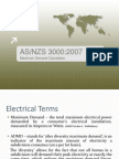 As nzs 3000 2007 electrical installations known as the australian wiring standards as 3000 presentation fandeluxe Choice Image