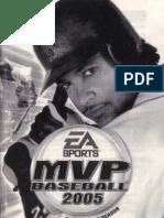 MVP Baseball 2005 - Manual - PC