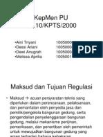 KepMen PU No.10