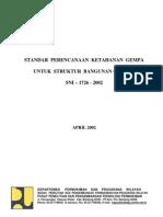SNI-03-1726-2002